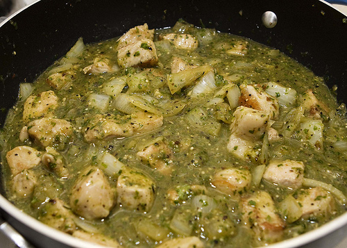 ... chili verde by the crockpot chili verde easy chile verde the peanut