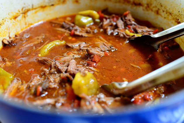Hot & Spicy Italian Drip Beef | Family Recipe Central