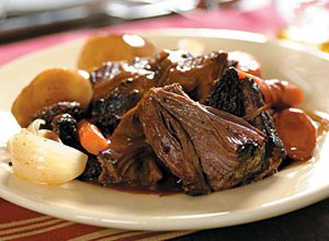 Marinated Pot Roast in a Crockpot