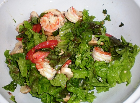 Shrimp Salad with Herb Dill Dressing | Family Recipe Central